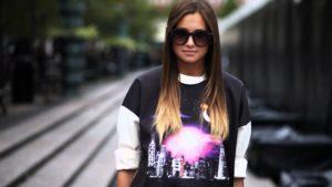 Fashion blogger Danielle Bernstein