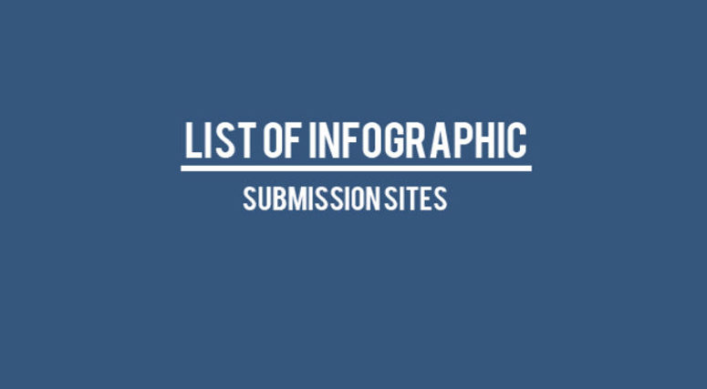 Infographic Submission Sites-Eazywalkers